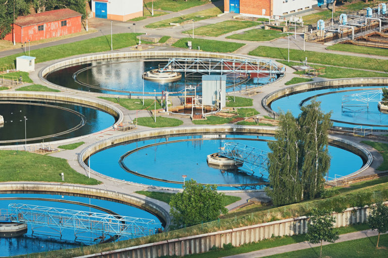 Water Recycling in large sewage treatment plant